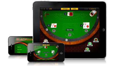 mobile blackjack app